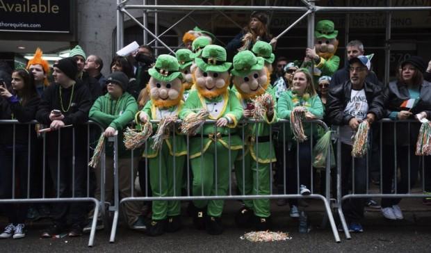 Desfile de san Patricio de 2015en Nueva York (EFE)