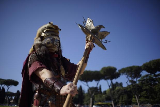 Imagen de una actividad de recreación histórica en Roma (2014) (GTRES)
