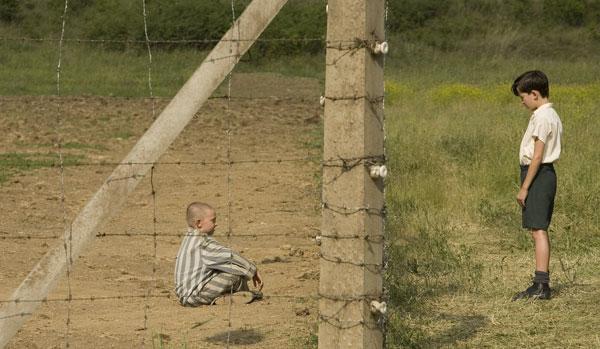 Fotograma de la adaptación al cine de 'El niño con el pijama de rayas'.