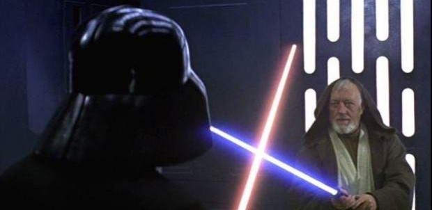Fotograma de 'La Guerra de las Galaxias: Una nueva esperanza'.