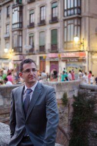 El escritor Blas Malo (fotografía cedida por el autor)