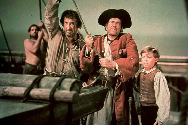 Fotograma de la película de La isla del tesoro (1950)
