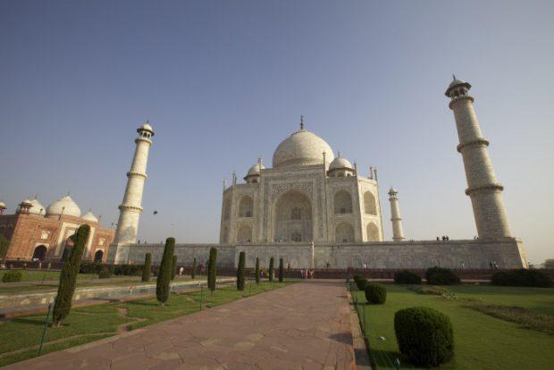 Taj Mahal, contruido entre1631 y 1653 (GTRES)
