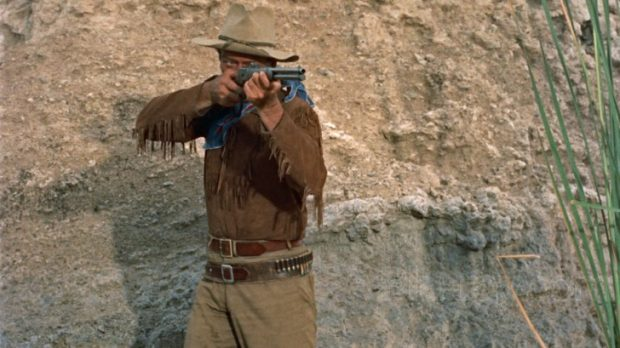 Hondo, con John Wayne.
