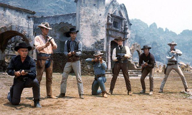 Los siete magníficos, originales, los de 1960.