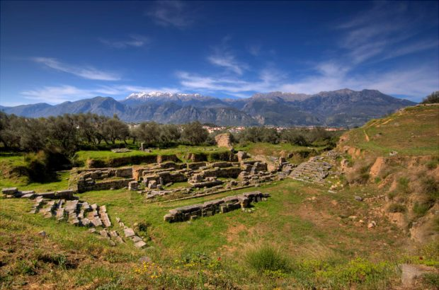 Ruinas de Esparta (Wikipedia)
