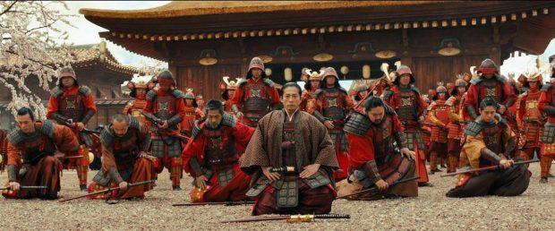 Fotograma de la película 'La leyenda del samurái'.