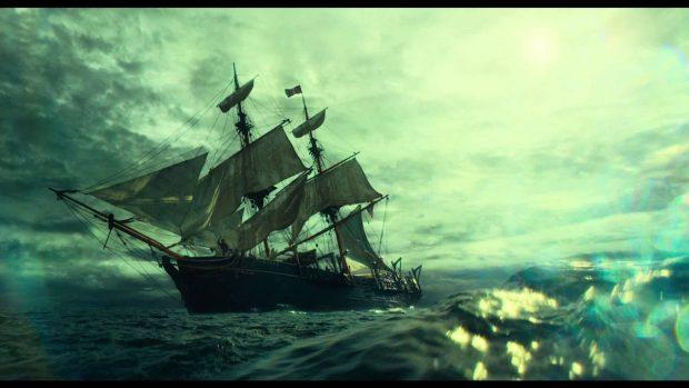 Fotograma de la película 'El corazón del mar'.