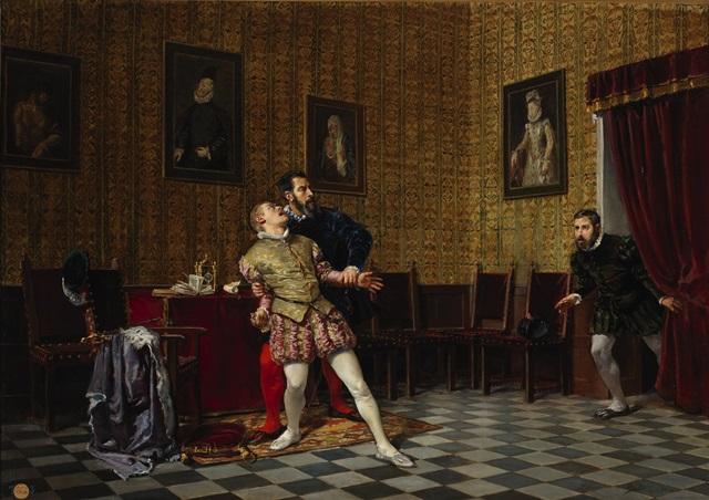 el_principe_don_carlos_y_el_duque_de_alba_museo_del_prado