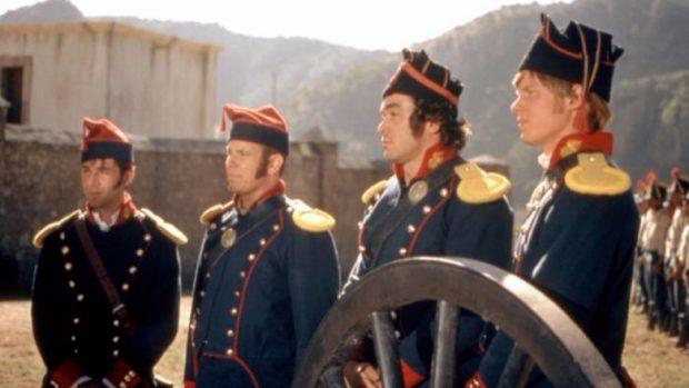 Fotograma de One´s Man Hero (1999), película sobre el batallón San Patricio.
