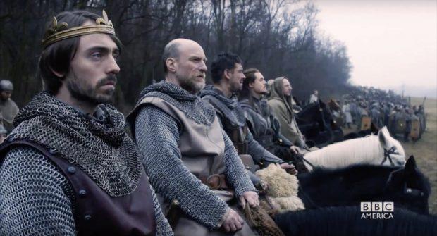 Fotograma de la serie 'The Last Kingdom', basada en las novelas de Bernard Cornwell.