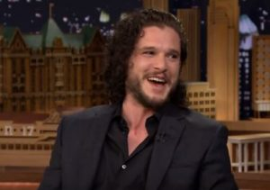 Kit Harington en el show de Jimmy Fallon