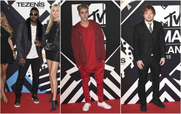 Jason Derulo, Justin Bieber y Ed Sheeran