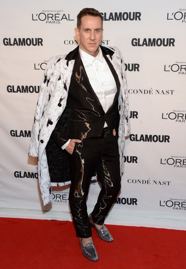 Fashion designer Jeremy Scott attends the 25th annual Glamour Women of the Year Awards at Carnegie Hall on Monday, Nov. 9, 2015, in New York.
