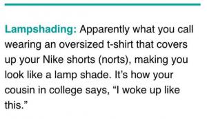 Definición de lampshading. INSTAGRAM
