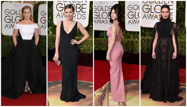 Amy Schummer, Sophia Bush, Lady Gagag y Emilia Clarke