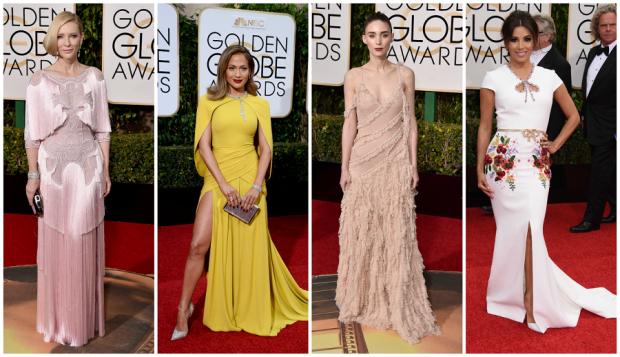 Cate Blanchett, Jennifer López, Rooney Mara y Eva Longoria