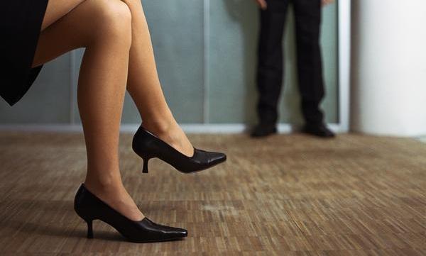 Zapatos de tacón. GTRES
