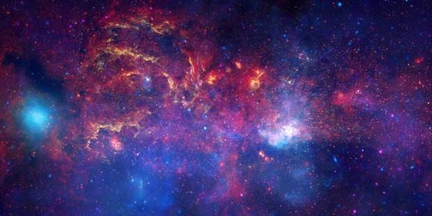 Sector de la Vía Láctea. GTRES