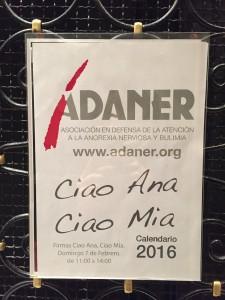Cartel de Adaner. MARA MARIÑO