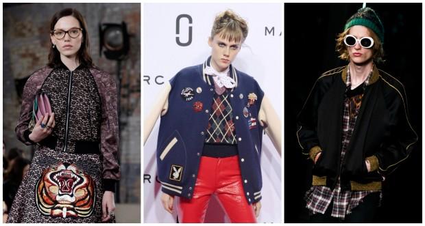Bombers de Gucci, Marc Jacobs e Yves Saint Laurent. Hazte con todos. GTRES