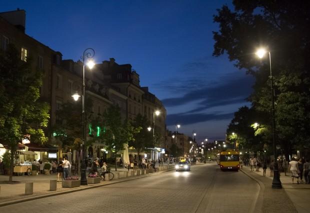 Ciudad por la noche. GTRES