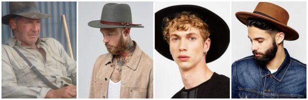 Sombreros. WIKIPEDIA, ASOS Y BERSHKA.