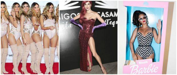 Heidi Klum, Alessandra Ambrosio y Beyoncé. GTRES
