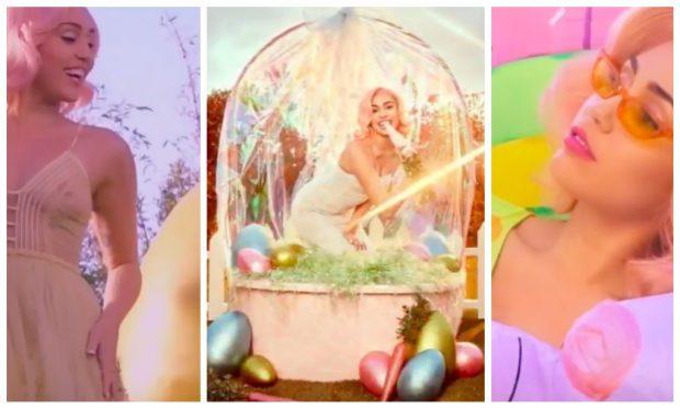 6a3e0e8ea7 La sesión de fotos de Miley Cyrus para Vogue: el sueño en pastel de los  amantes de la moda