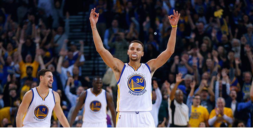 Curry, tras la victoria de su equipo ante los Chuicago Bulls (TWITTER GSW).