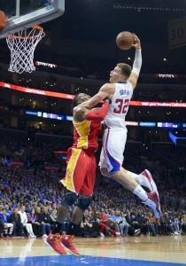 Griffin machaca ante Harden