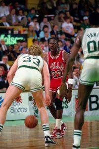 Jordan ante Bird en 1986