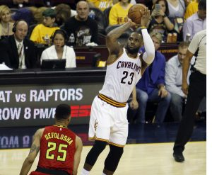 Lebron James ante Atlanta