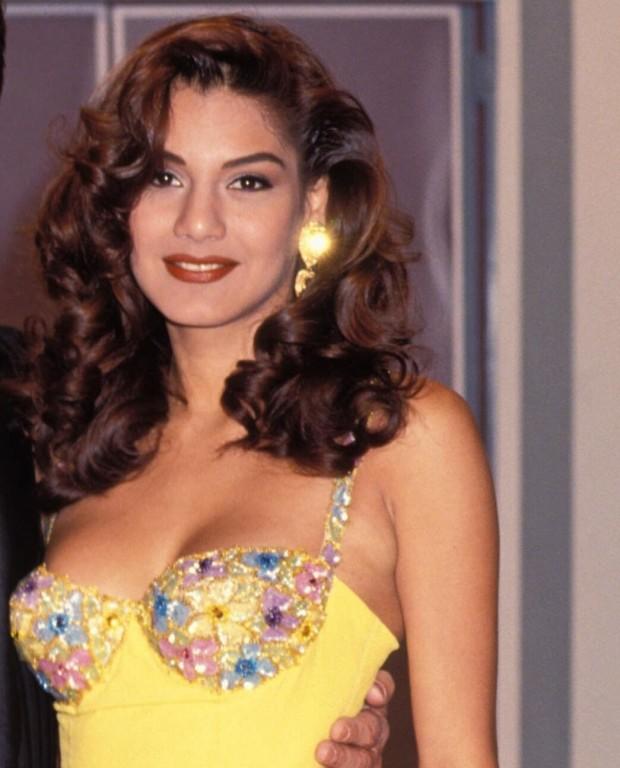 La presentadora Ivonne Reyes, en una foto de 1993. GTRES