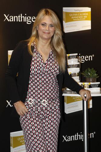 Isabel Sartorius, durante un acto de la marca Xanthigen en abril de 2015.