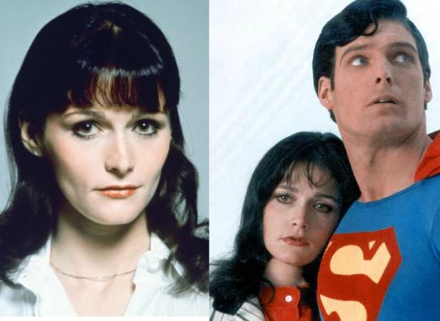 Resultado de imagem para Margot Kidder, conhecida por interpretar Lois Lane