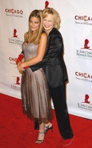 Cybill Sheperd y su hija