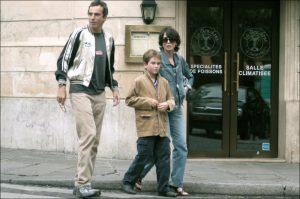 Daniel Day-Lewis con Isabele Adjani y Gabriel Kane