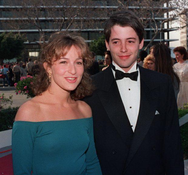 Mathew Broderick y Jennifer Grey