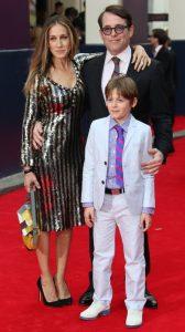 Sarah Jessica parker, matthew Broderick y su hijo James