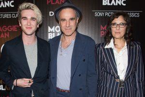 Gabriel Kane Day Lewis con su padre Daniel Day Lewis y Rebecca Miller