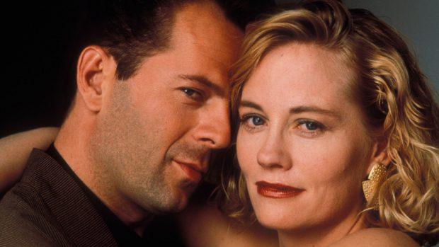 Bruce Willis y Sybill Sheperd
