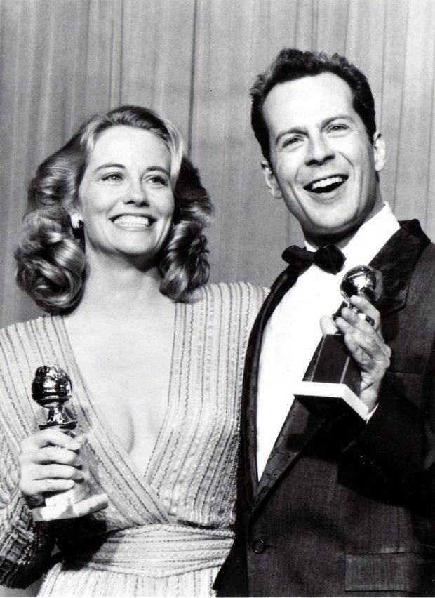 Cybill Sheperd y Bruce Willis