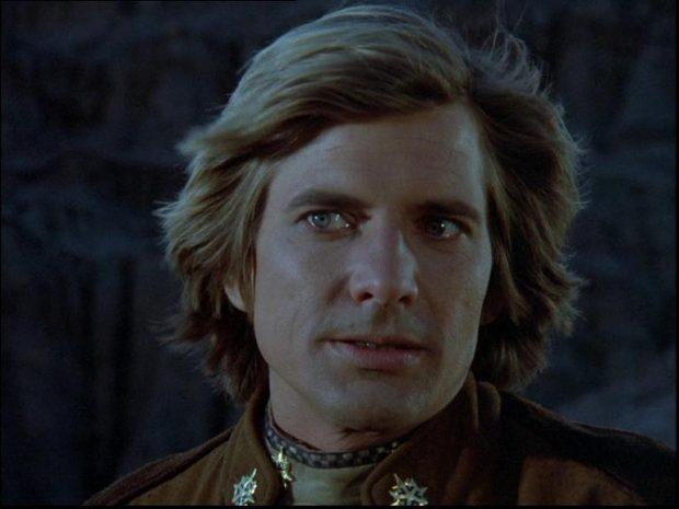 Dirk Benedict en Galactica