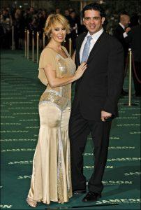 Miriam Díaz-Aroca y su marido Wichi Washington