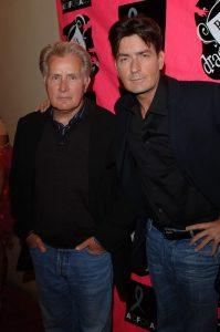 Martin Sheen y Charlie Sheen