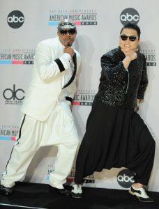 MC Hammer y Psy