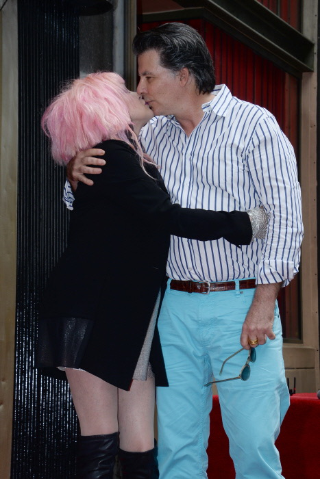 Cyndi Lauper y David Thornton