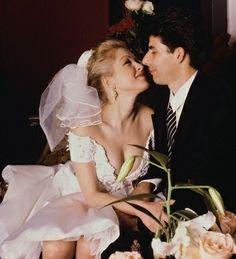 Cyndy Lauper y David Thorton