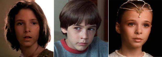 Noah Hathaway, Barret Oliver y Tami Stronach